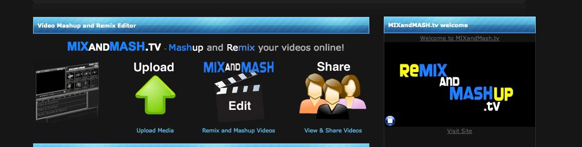 mix and mash dot TV